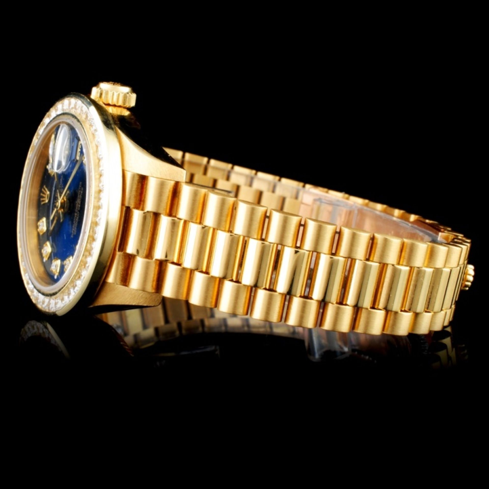 Rolex Presidential Diamond Ladies Watch - Image 3 of 6