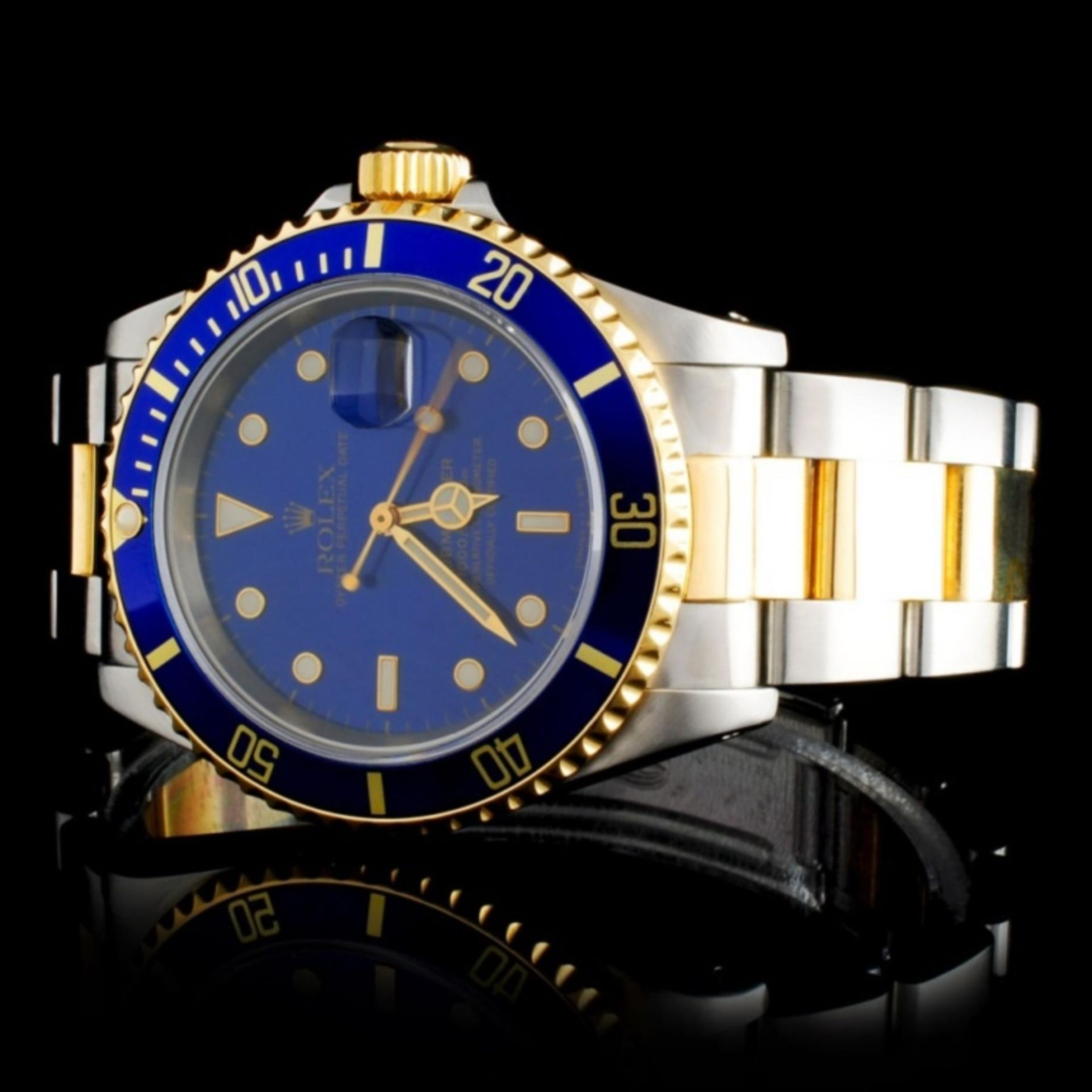 Rolex YG/SS Submariner 40MM Wristwatch - Image 2 of 5