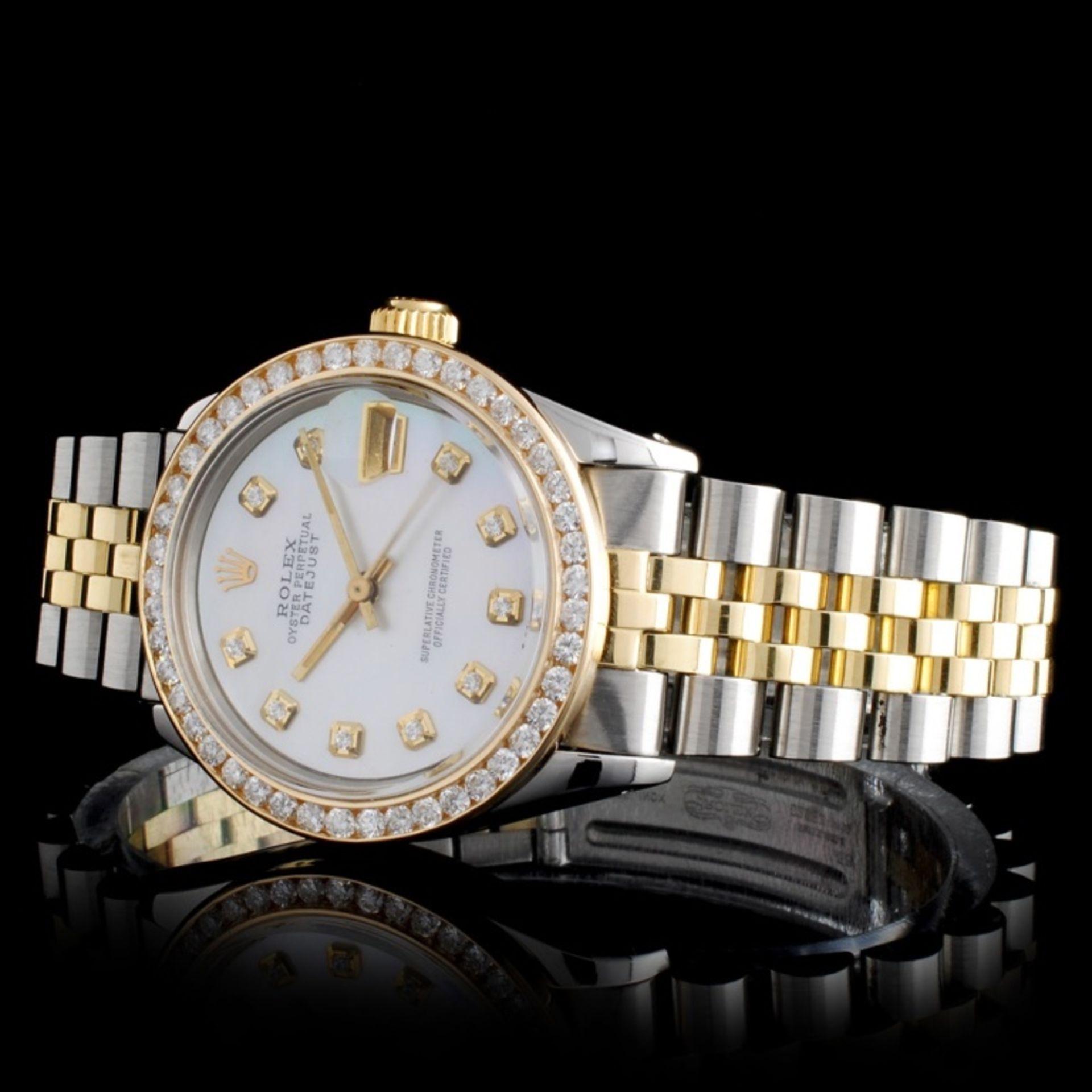 Rolex DateJust Diamond 31mm Wristwatch - Image 2 of 5