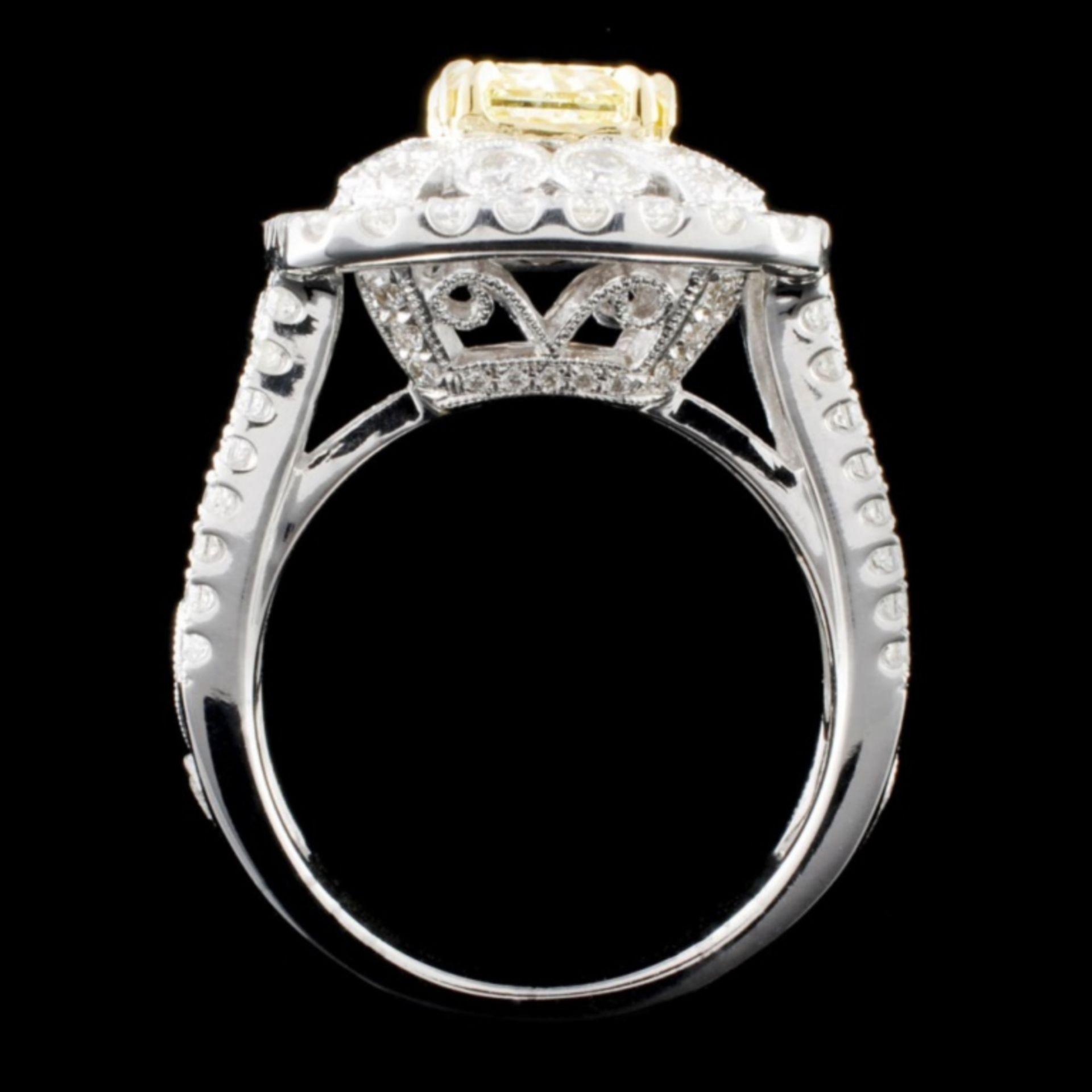 18K Gold 2.74ctw Fancy Diamond Ring - Image 3 of 4