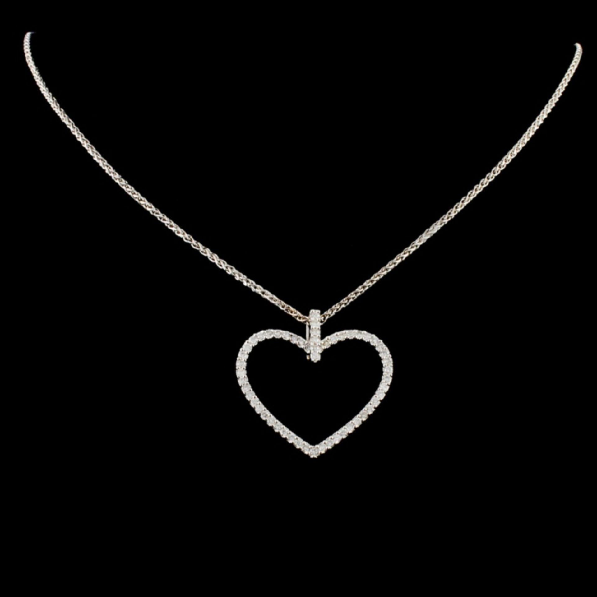 14K Gold 0.68ctw Diamond Necklace - Image 2 of 4