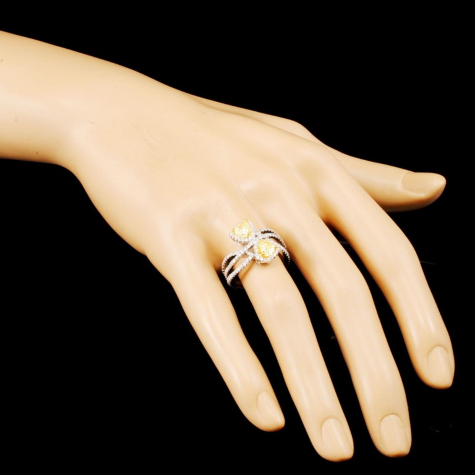 18K Gold 1.96ctw Diamond Ring - Image 3 of 5