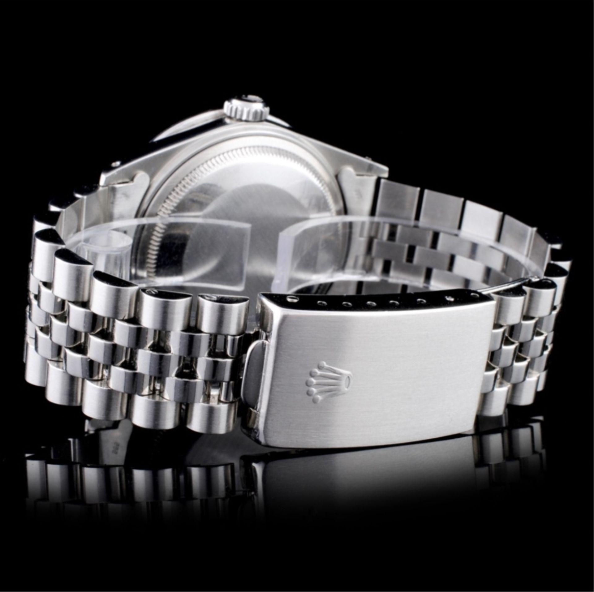 Rolex DateJust Diamond 36MM Wristwatch - Image 3 of 5