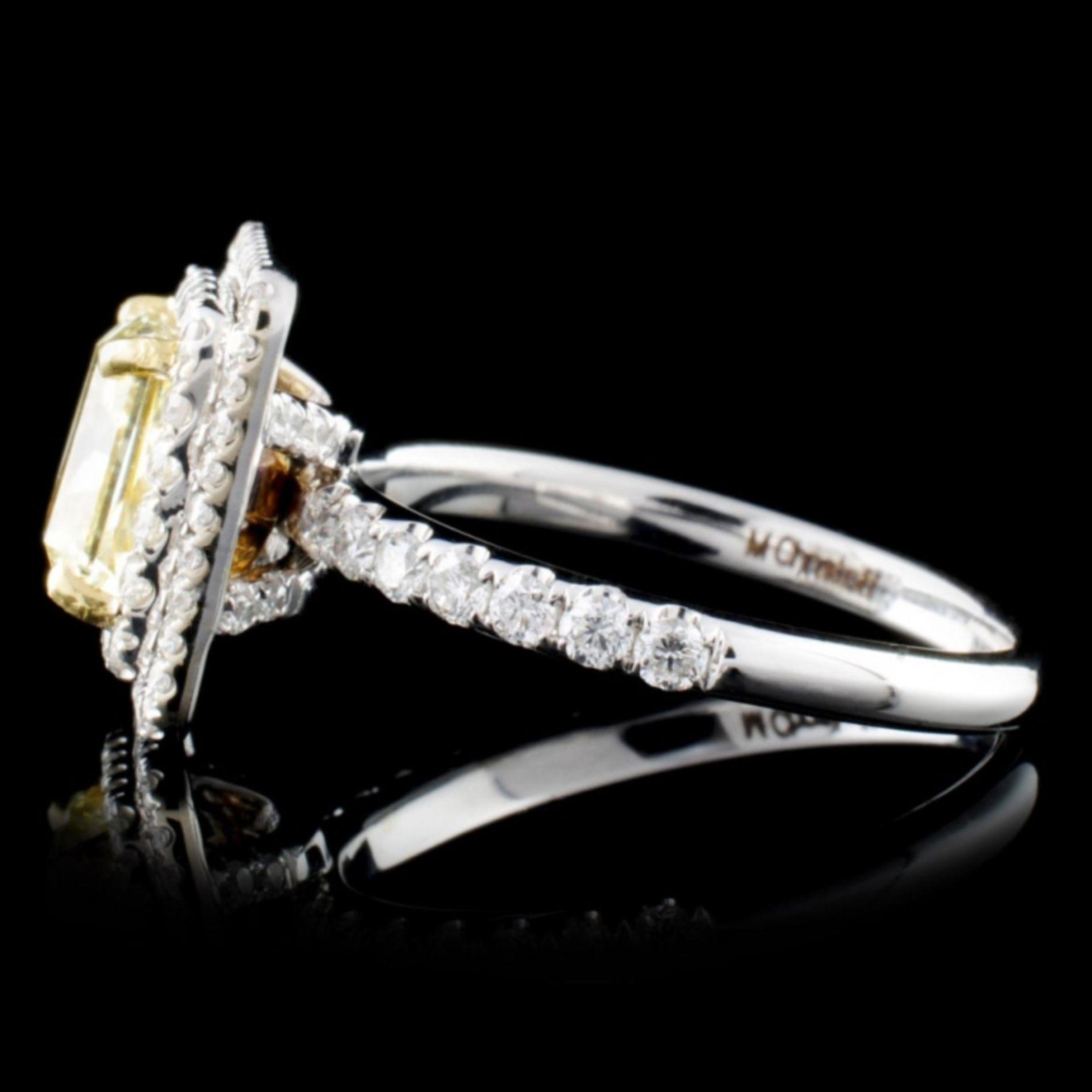 18K White Gold 2.57ctw Fancy Diamond Ring - Image 3 of 3