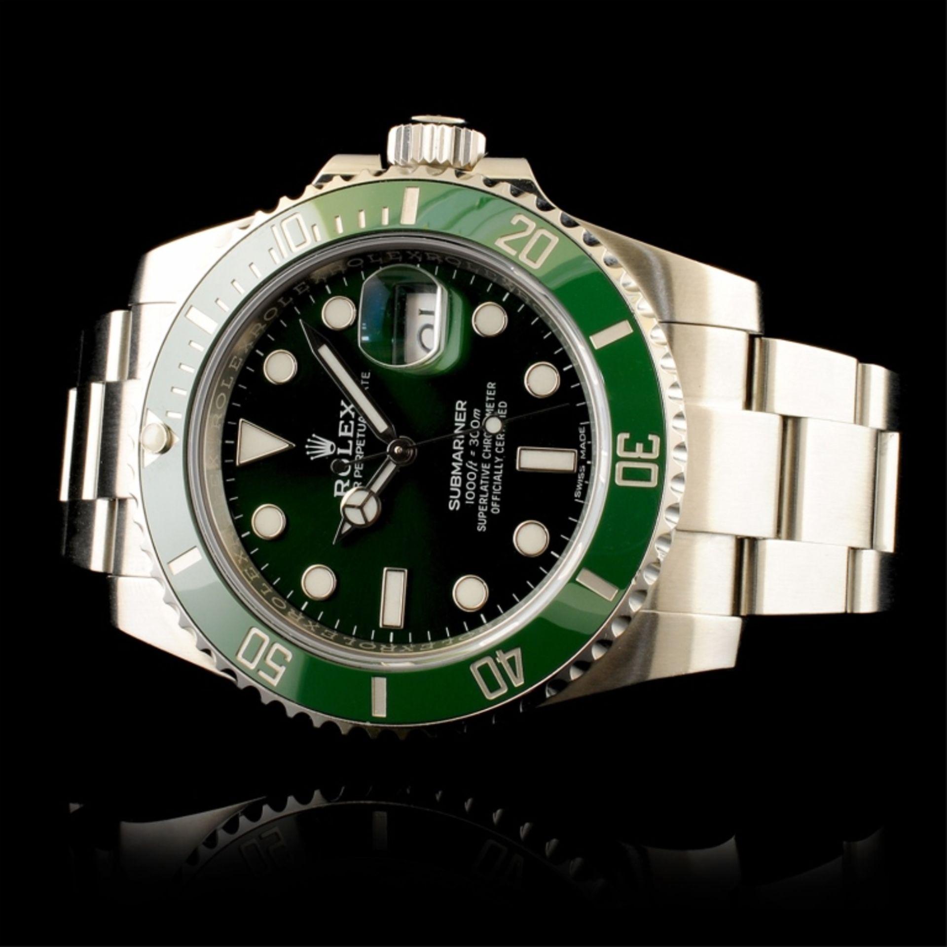 """Rolex Submariner """"Hulk†- Image 2 of 4"""