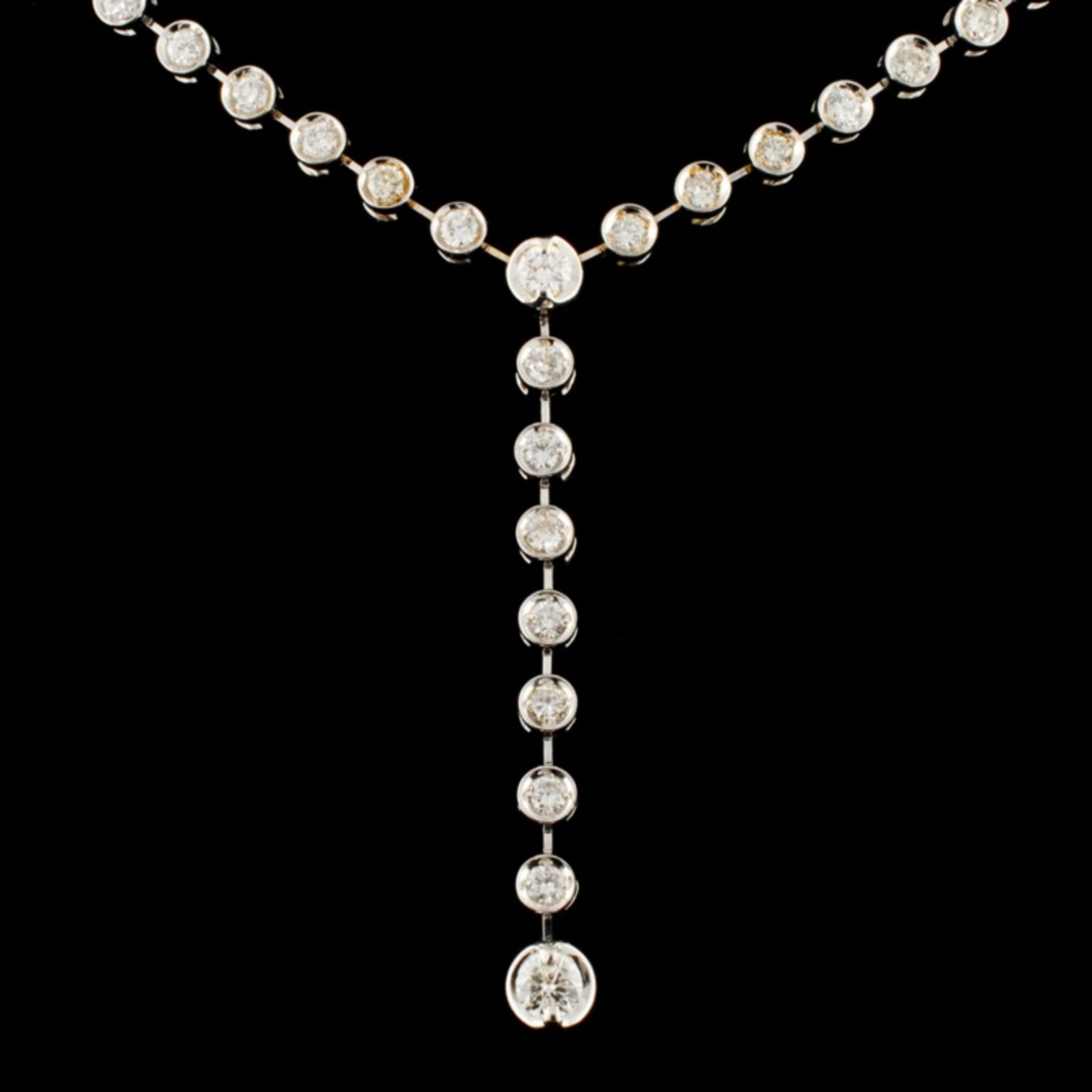 14K Gold 2.13ctw Diamond Necklace - Image 2 of 4