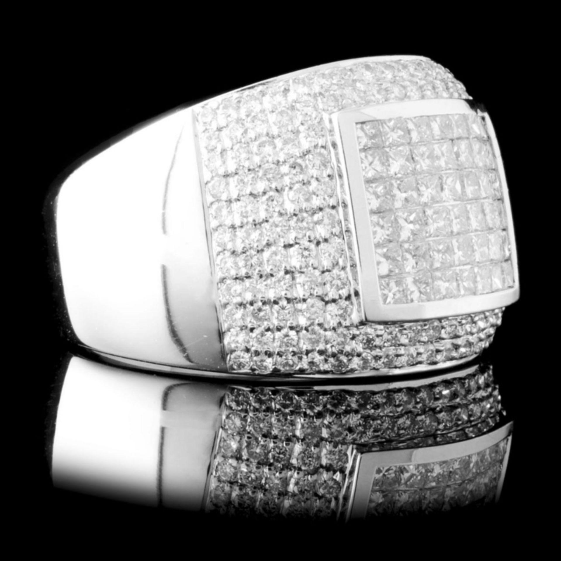 18K Gold 1.55ctw Diamond Ring - Image 3 of 4