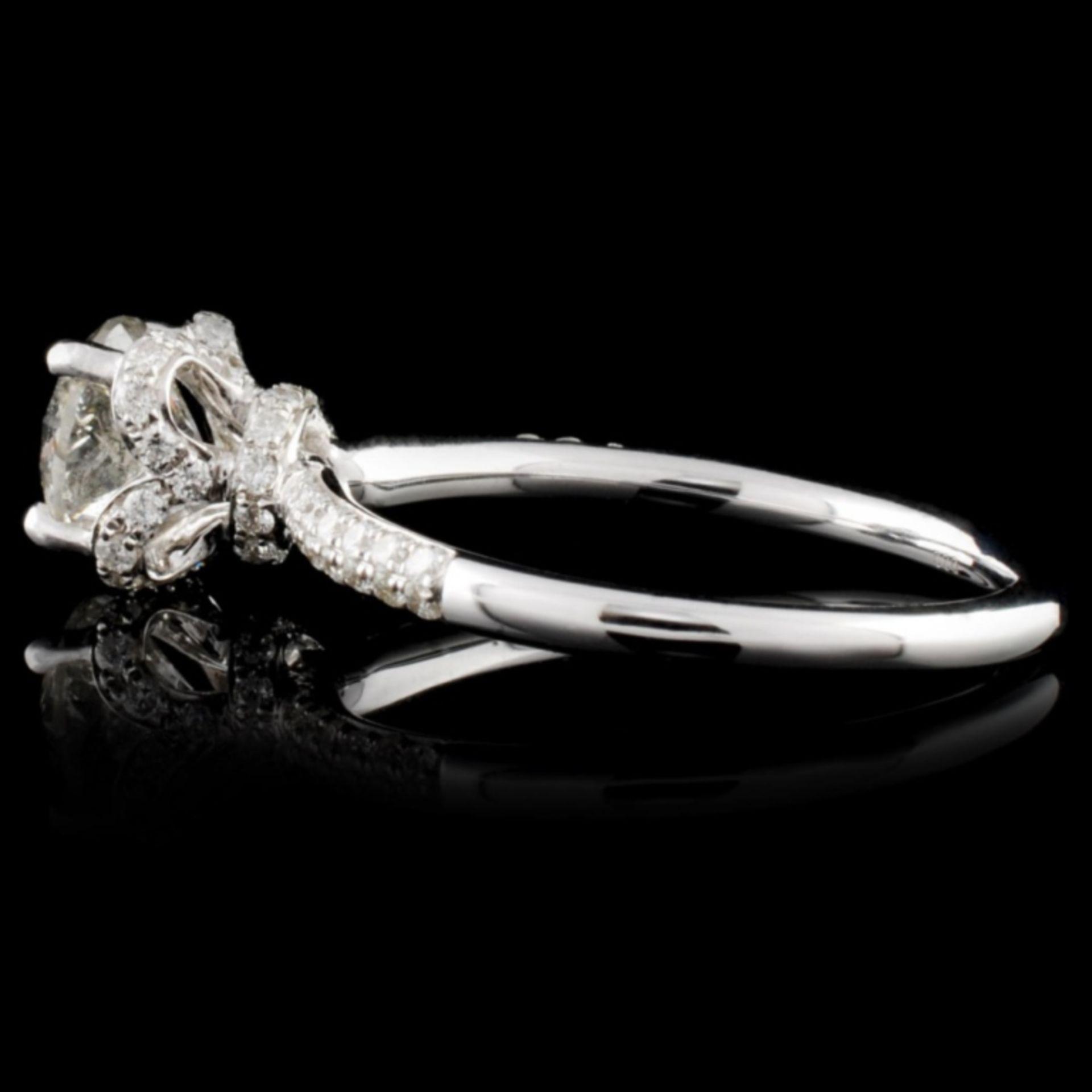 18K White Gold 1.58ctw Diamond Ring - Image 3 of 4
