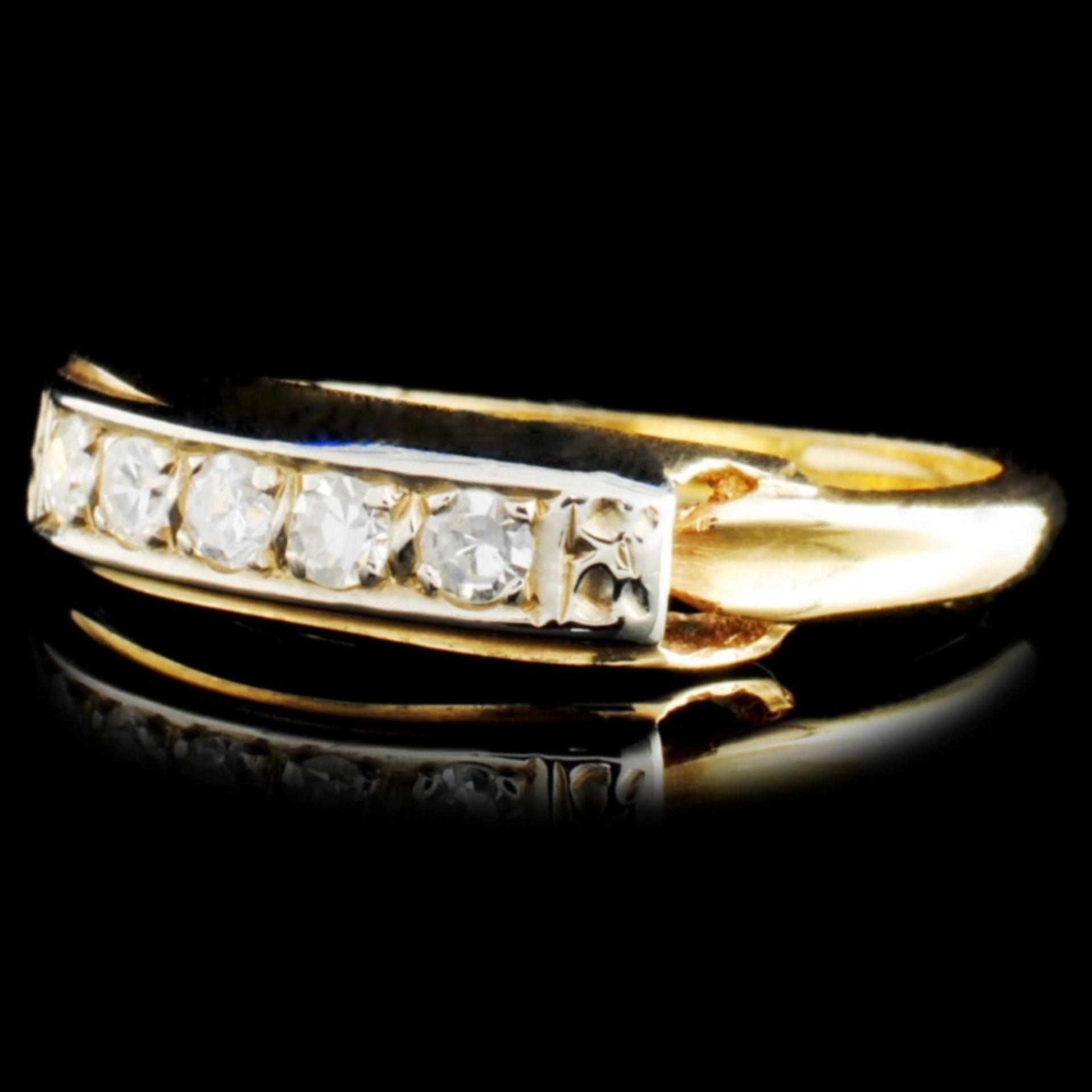 14K Gold 0.23ctw Diamond Ring - Image 2 of 2