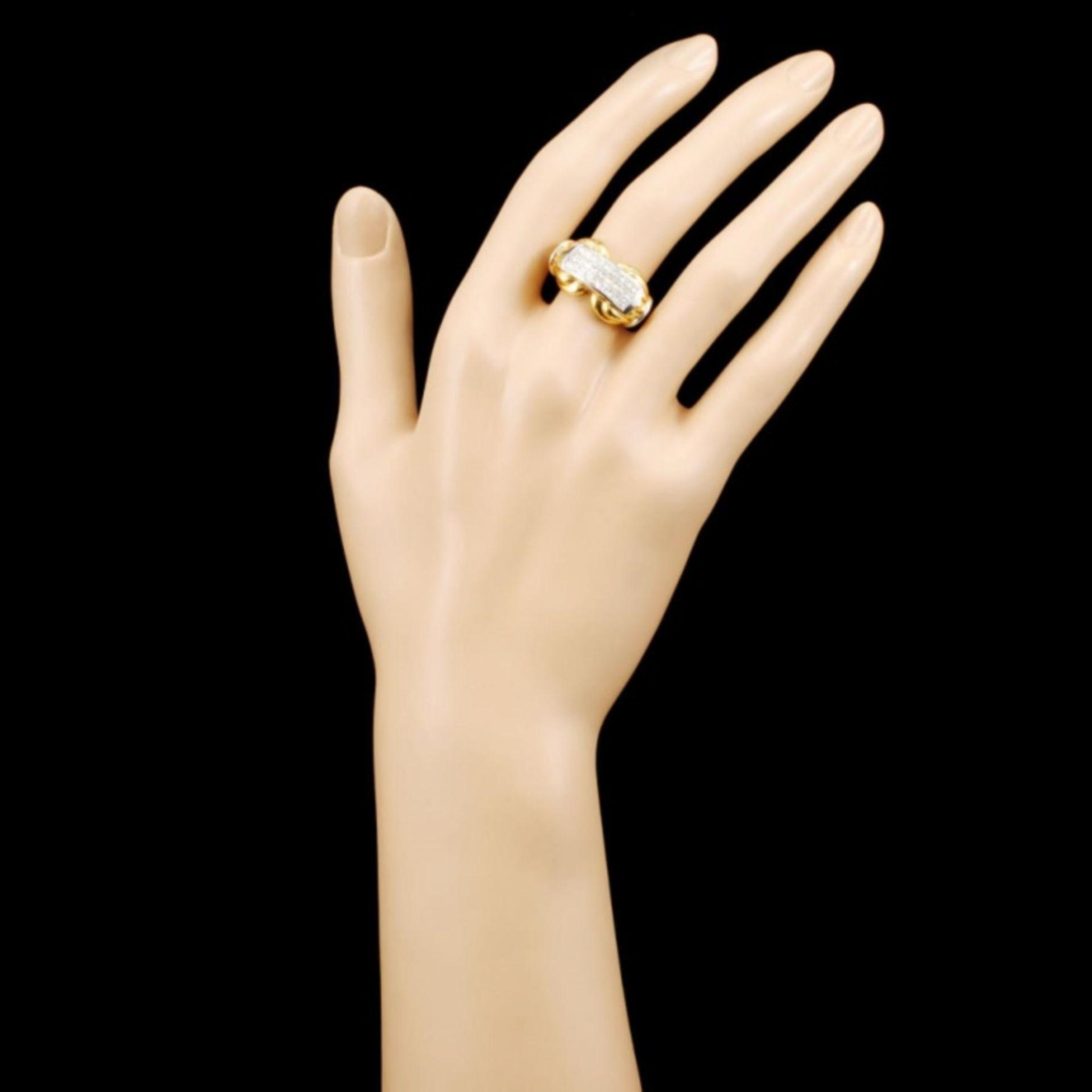 18K Gold 1.29ctw Diamond Ring - Image 4 of 4