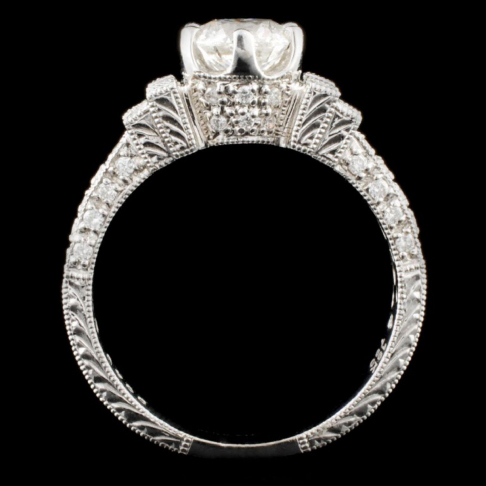 18K Gold 1.33ctw Diamond Ring - Image 3 of 4