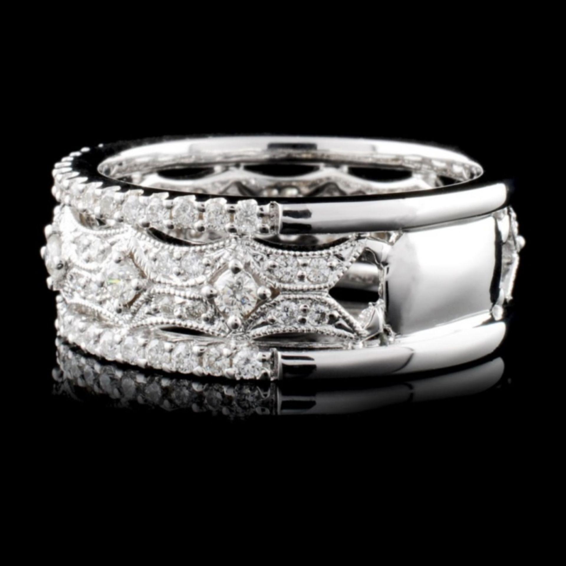 18K White Gold 1.03ct Diamond Ring - Image 3 of 4