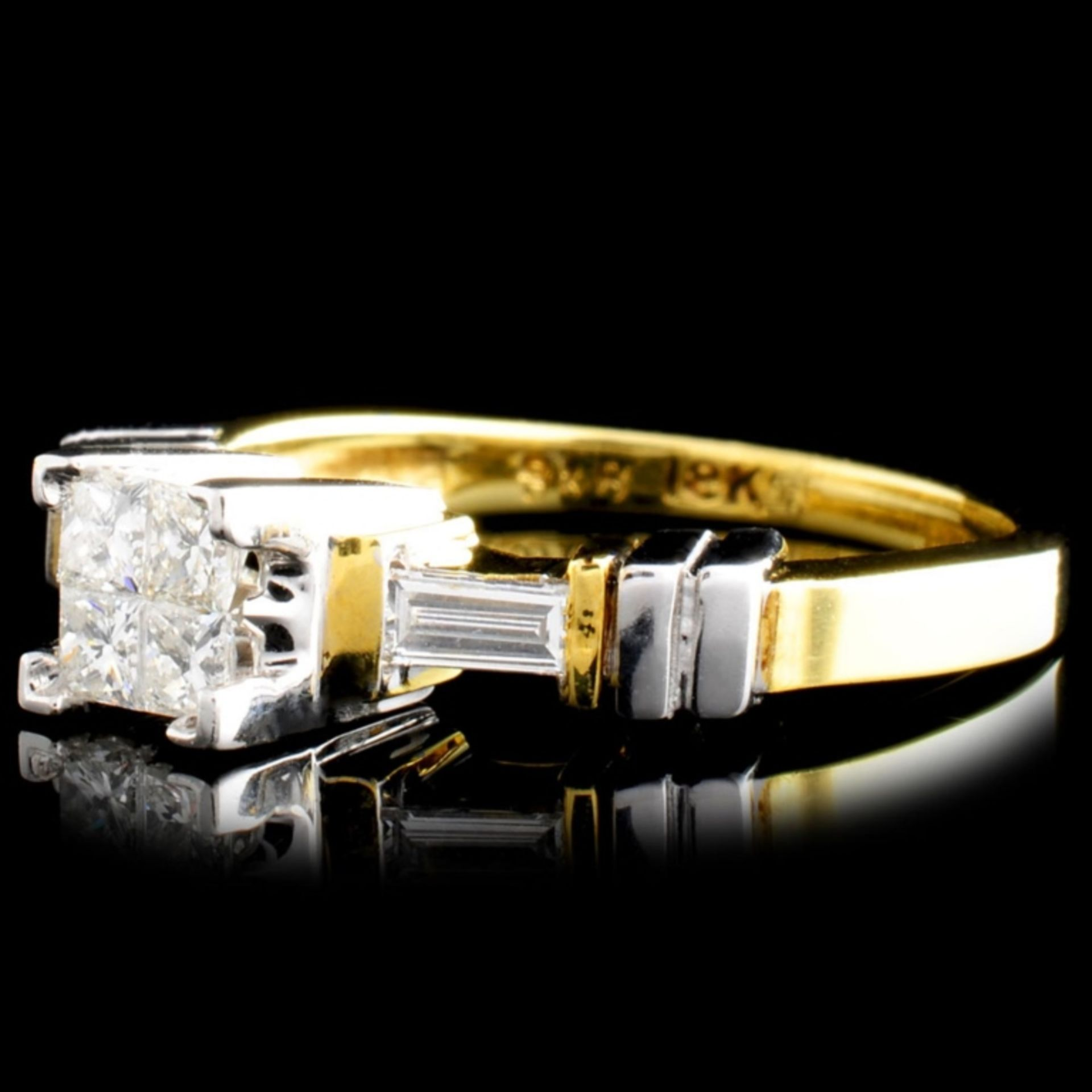18K Gold 0.50ctw Diamond Ring - Image 2 of 4