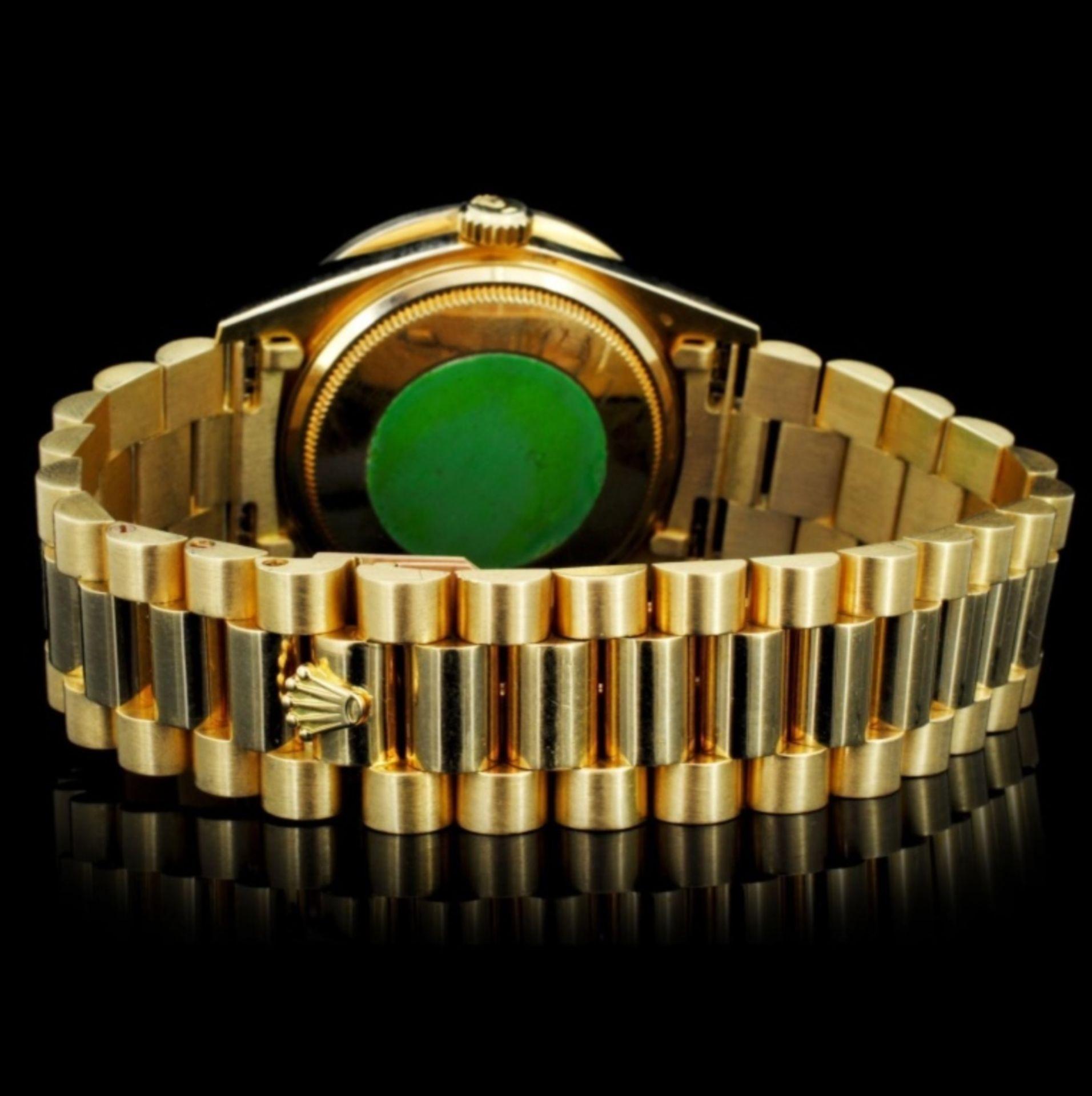 Rolex Day-Date Diamond 36mm Wristwatch - Image 4 of 6