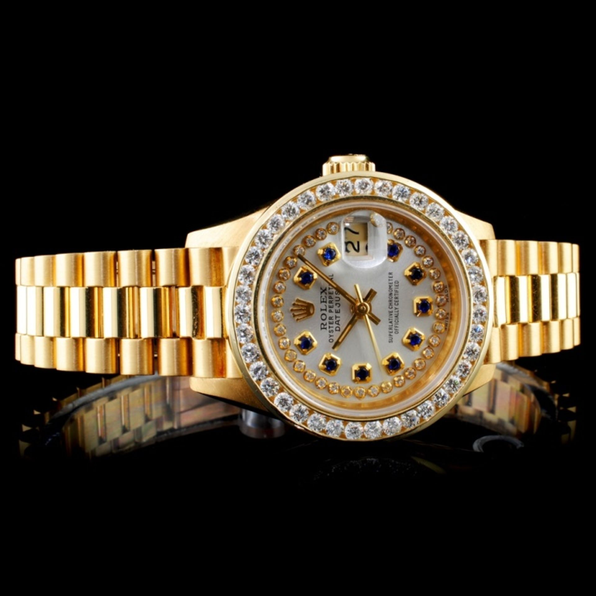 Rolex Presidential Diamond Ladies Watch - Image 2 of 6