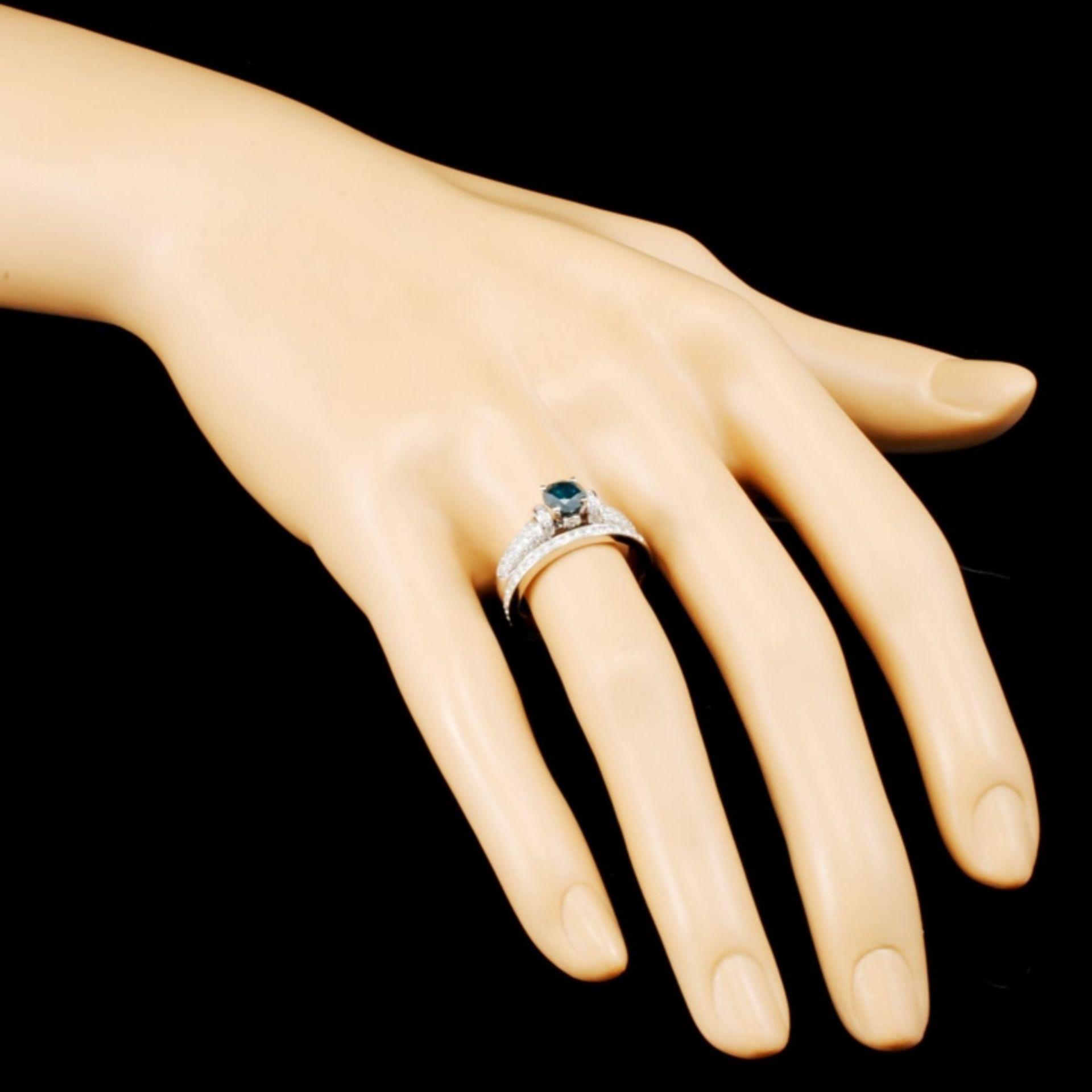 18K Gold 1.32ctw Diamond Ring - Image 3 of 5