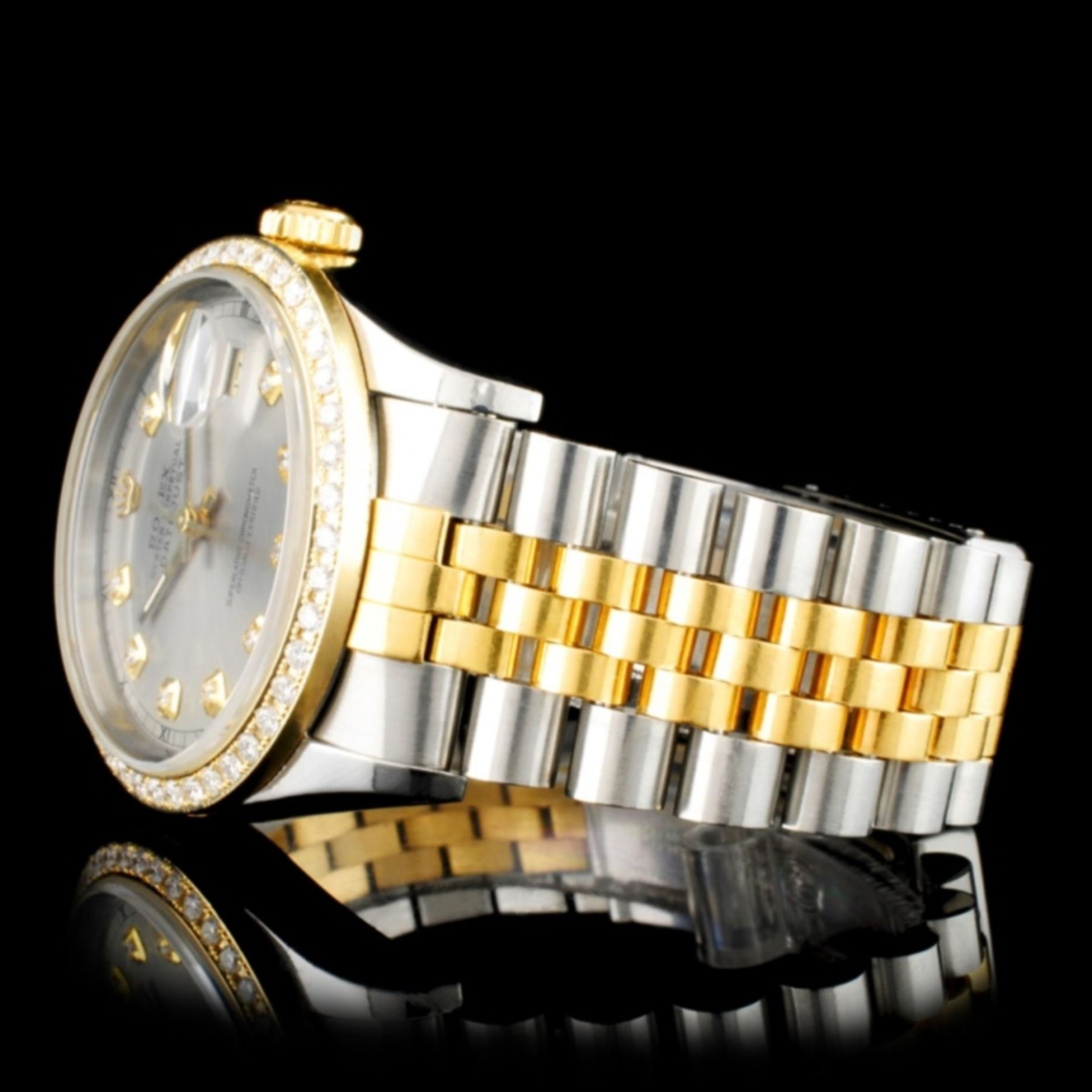 Rolex DateJust Diamond 36MM Wristwatch - Image 3 of 6