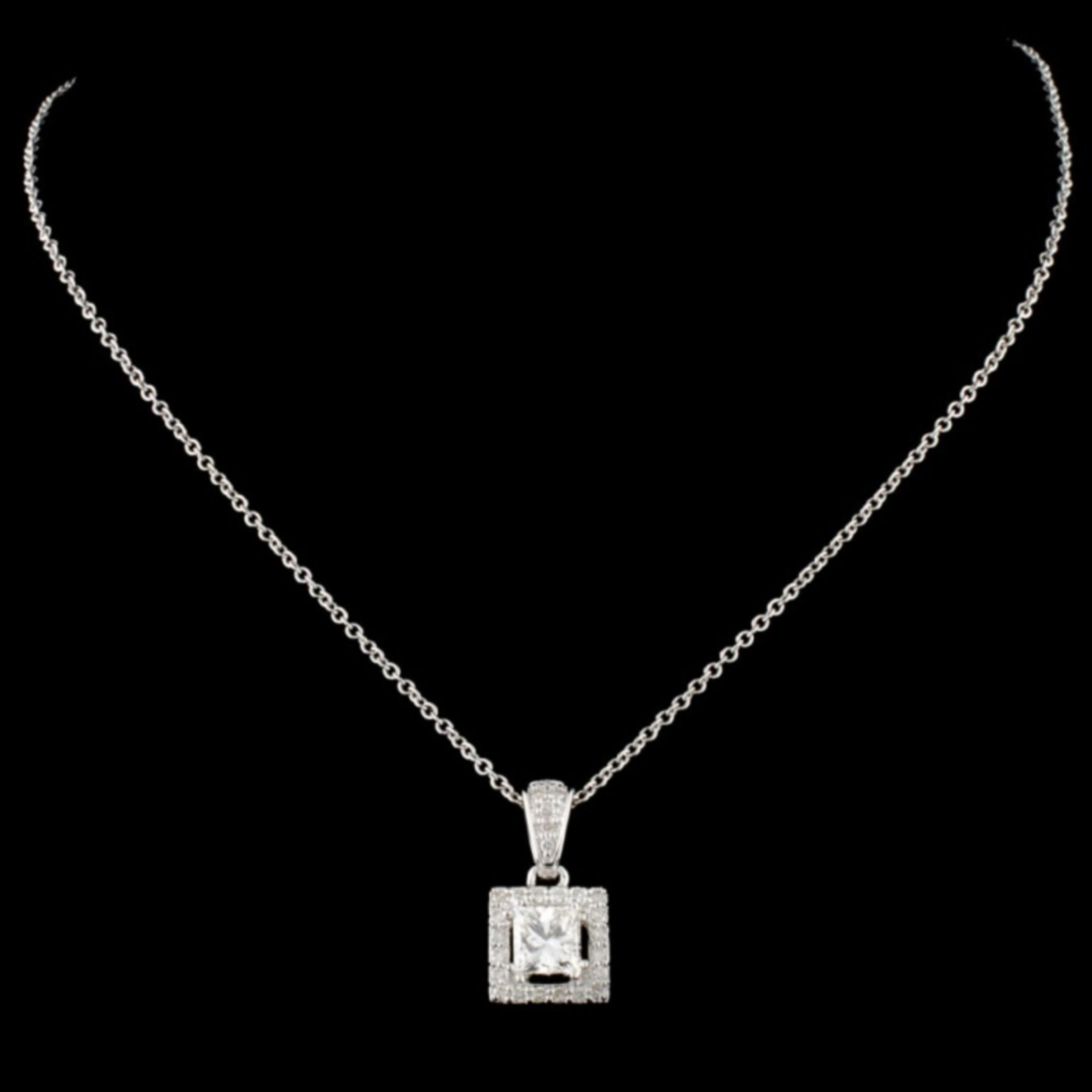 14K Gold 0.66ctw Diamond Pendant - Image 2 of 2