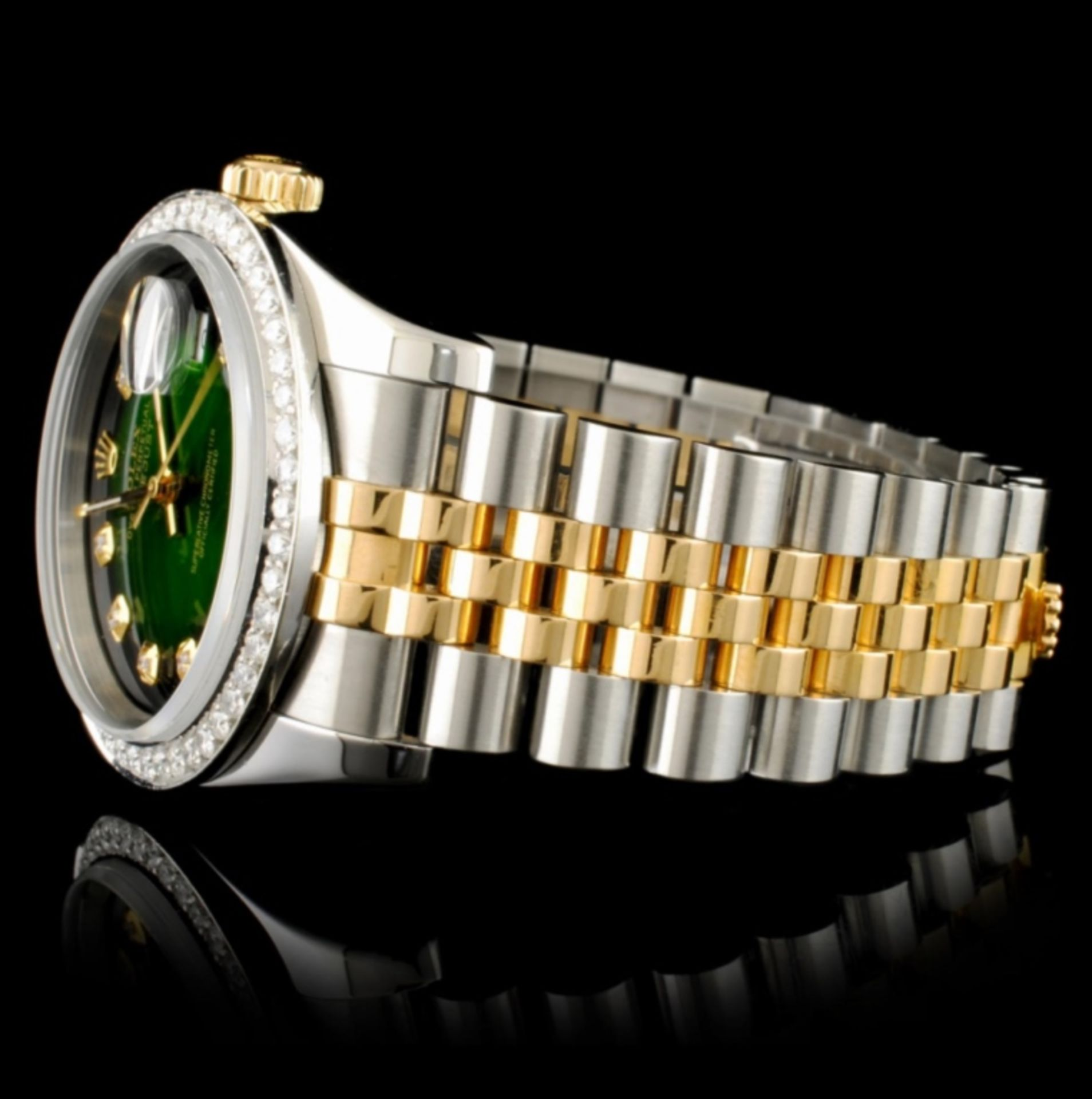 Rolex DateJust 116233 18K YG/SS Diamond 36MM Watch - Image 4 of 7