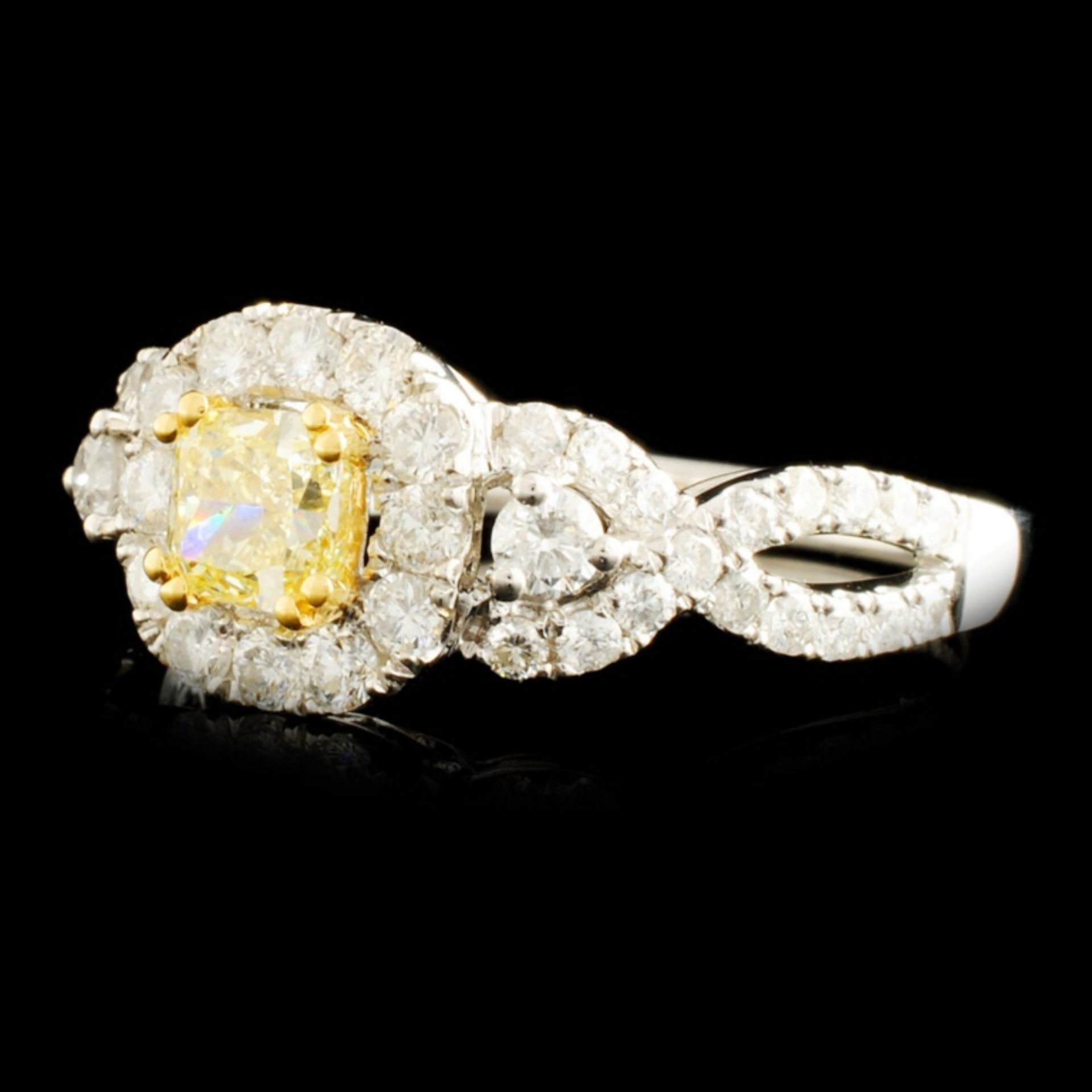 18K Gold 1.31ctw Diamond Ring - Image 2 of 5