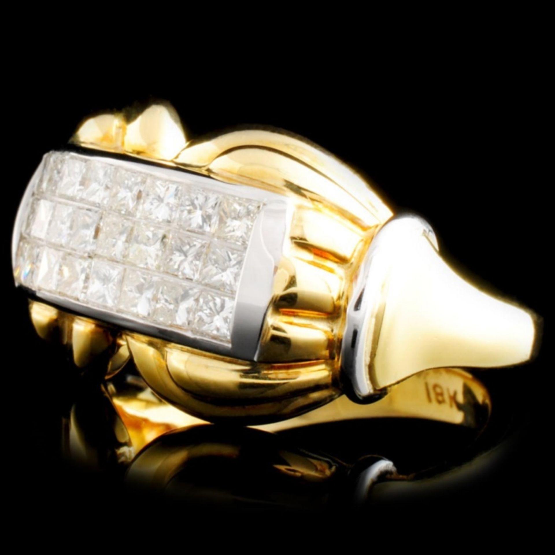 18K Gold 1.29ctw Diamond Ring - Image 2 of 4