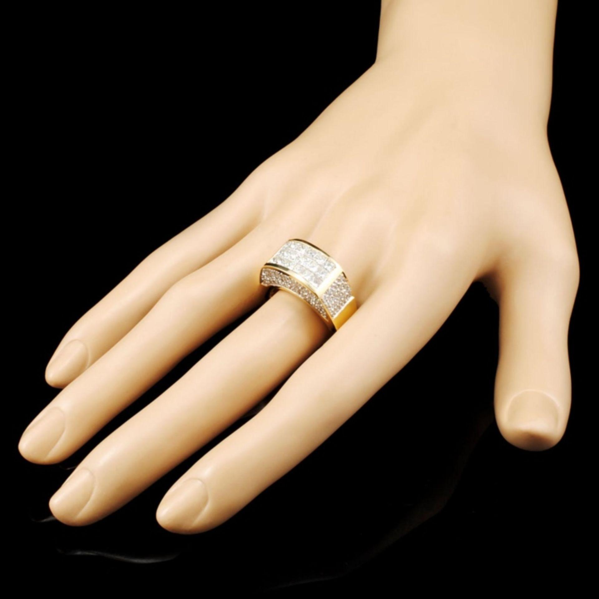 18K Gold 2.79ctw Diamond Ring - Image 3 of 5
