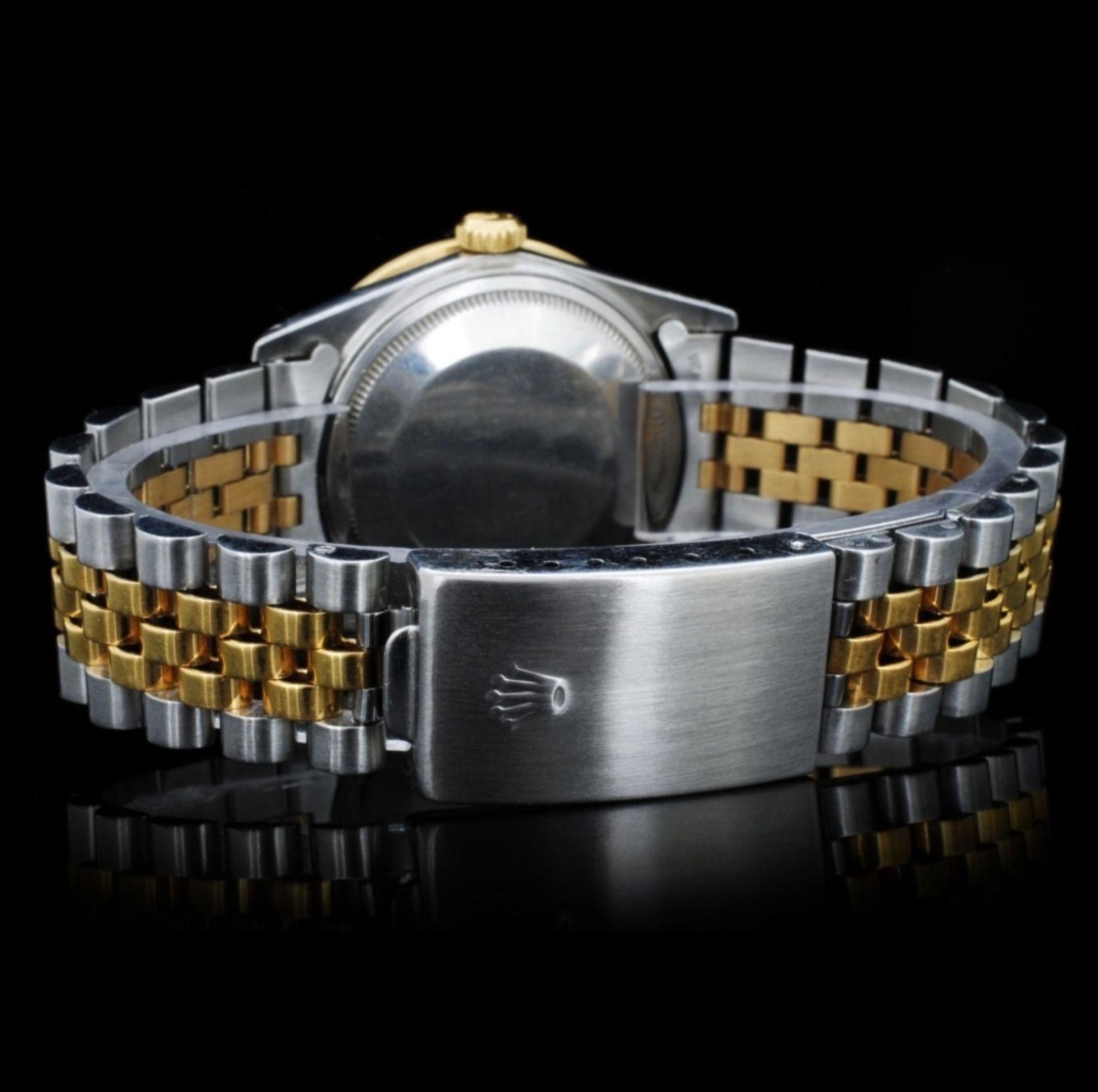 Rolex YG/SS DateJust Diamond 36MM Watch - Image 4 of 6