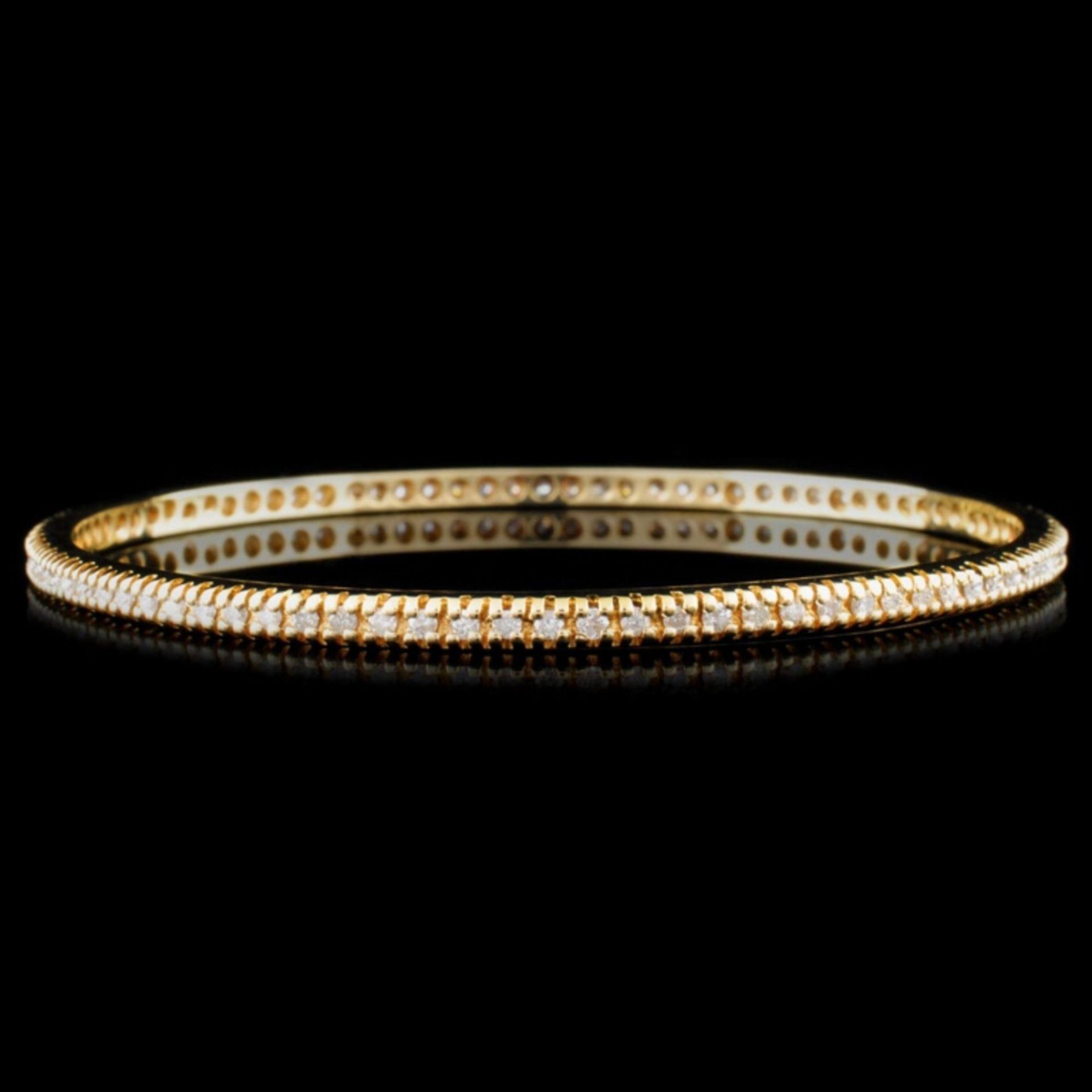 14K Gold 2.08ctw Diamond Bracelet