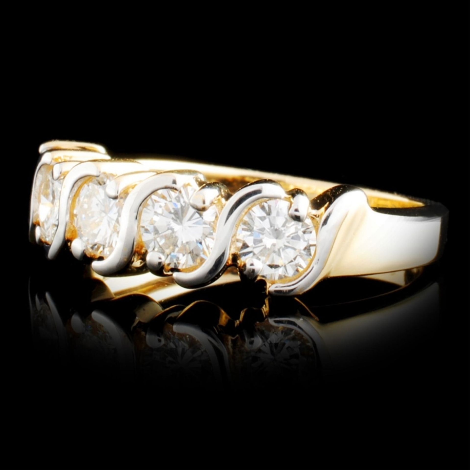 14K Gold 1.20ctw Diamond Ring - Image 2 of 5