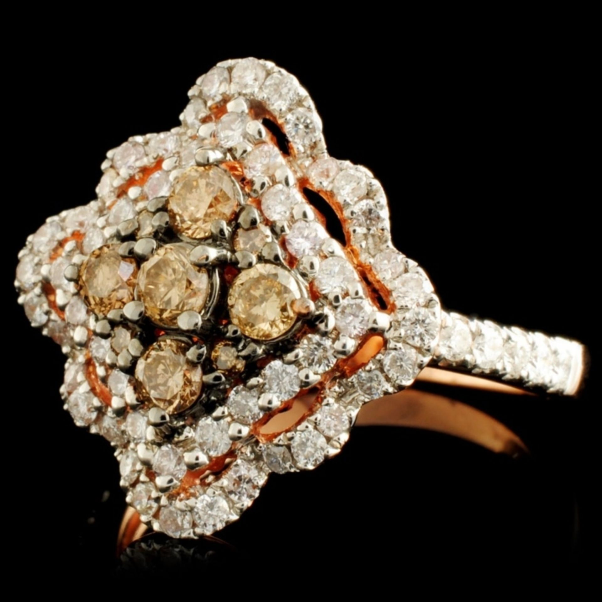 14K Gold 1.19ctw Diamond Ring - Image 2 of 5