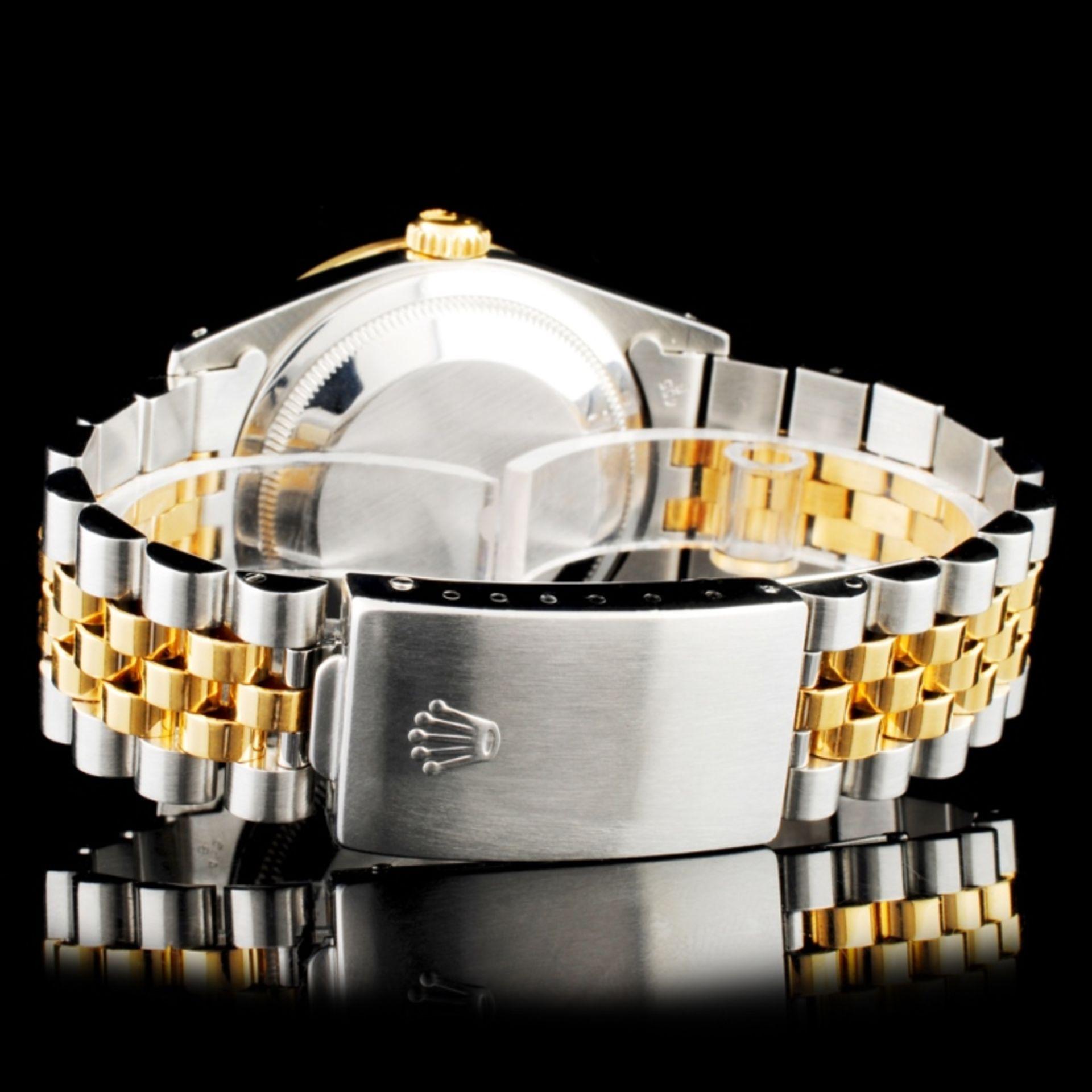 Rolex DateJust Diamond 36MM Wristwatch - Image 4 of 6