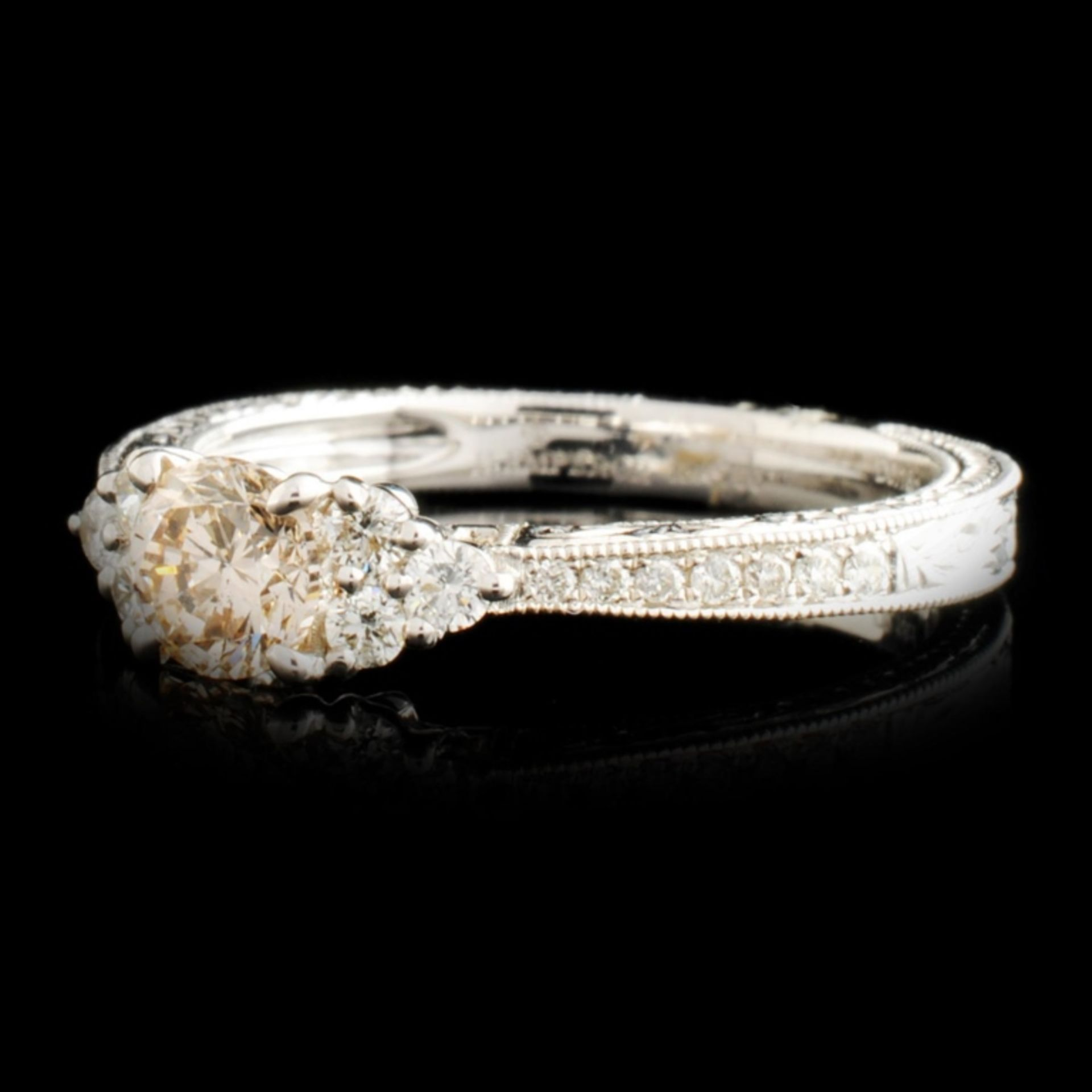 18K Gold 0.75ctw Diamond Ring - Image 2 of 5