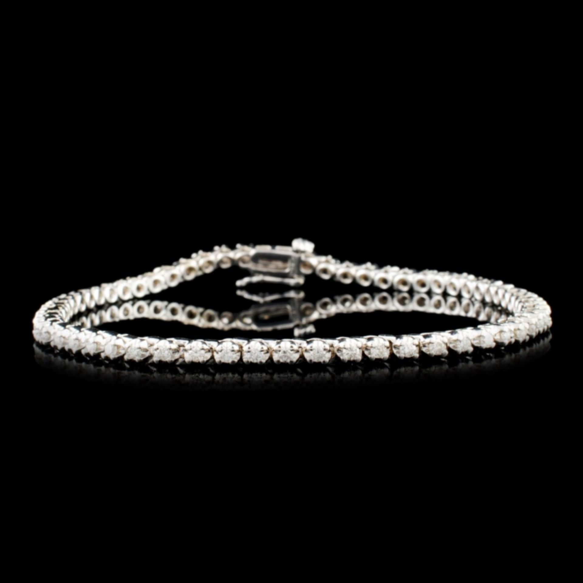14K Gold 0.44ctw Diamond Bracelet