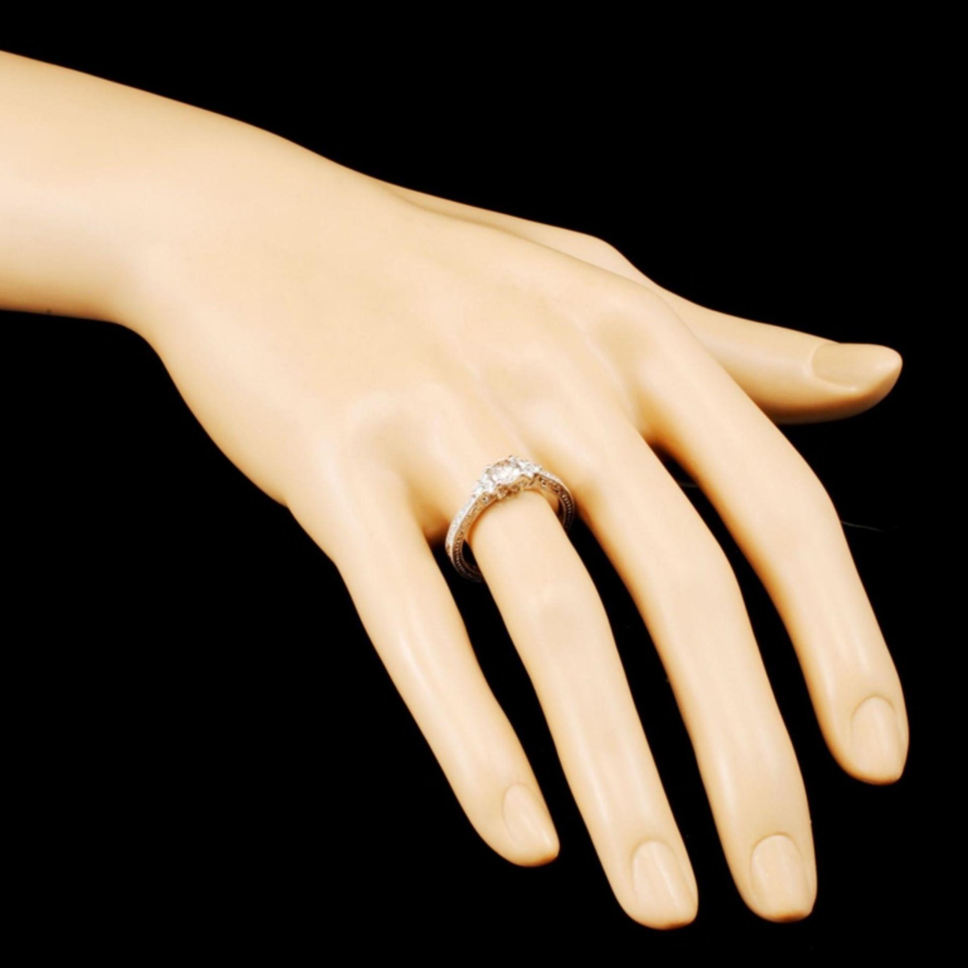 18K Gold 0.75ctw Diamond Ring - Image 3 of 5