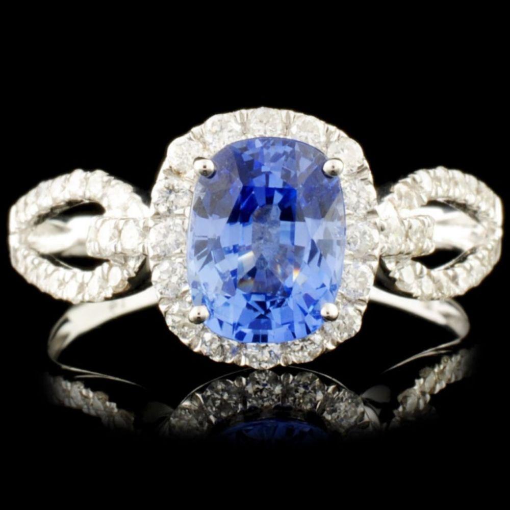 SAPPHIRE & DIAMOND NECKLACES & Rolex Event