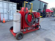 SIOUX STEAM CLEANER MODEL 200, ELECTRIC/GAS POWERED