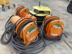 PALLET INDUSTRIAL/COMMERCIAL CABLE REELS (GLEASON, CONDUCTIX)