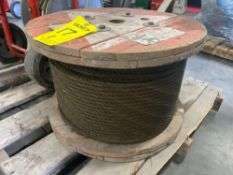SPOOL OF HEAVY DUTY CABLE