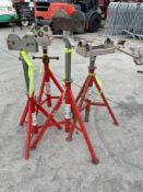 (4) RIGID JACK STANDS, MDL VJ-99, RJ-99