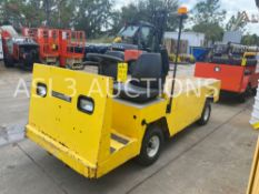 2015 COLUMBIA ELECTRIC SHOP CART WITH FLAT BED, RUNS AND DRIVES, 355 HOURS SHOWING ( 5346 )