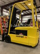 HYSTER FORK LIFT TRUCK MODEL J35ZT MAX CAPACITY 3,500lbs LOAD HEIGHT 187in