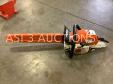 STIHL MS291 CHAINSAW WITH BLADE COVER