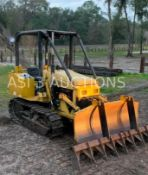 NOR TRAC MB3500 BULLDOZER, DIESEL POWERED, METAL TRACKS, GOOD UNDERCARRIAGE AT APPROX. 95%, 3 POINT