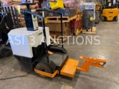 2012 TCI ELECTRIC STAND ON TUGGER MODEL TUGGER TA, RUNS AND DRIVES