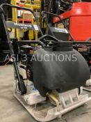 UNUSED PLATE COMPACTOR, LF-88, GAS ENGINE, WATER SYSTEM ( 5298 )