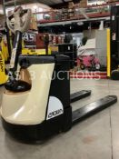 2017 ELECTRIC WP 3000 SERIES PALLET JACK MODEL WP3035-45 CAPACITY WITH EQUALLY DISTRIBUTED LOAD 4500