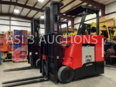 """2010 RAYMOND STAND UP FORKLIFT MODEL 425 C40TTW/ SIDE SHIFT, APPROX 4,000LB MAX CAPACITY, 251"""""""