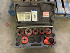 MANUAL RIDGID THREADER SET WITH CARRYING CASE