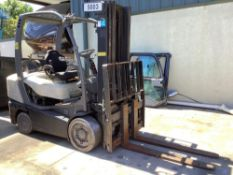 """CROWN LP FORKLIFT, APPROX. 5,000 LB LIFT CAPACITY ,APPROX HIGHT CAPACITY 180"""", TILT"""