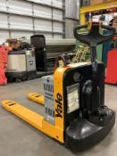 YALE ELECTRIC PALLET JACK MODEL MPB040-EN24T2748, APPROX MAX CAPACITY 4000LBS , ELECTRICAL ISSUE, CO